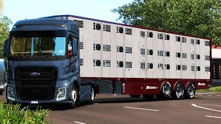 [ETS2 v1.36] Ownable Livestock Trailer Michieletto v 1.0.2