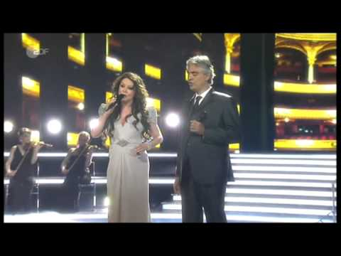 "Sarah Brightman & Andrea Bocelli - ""Time To Say Goodbye"" - Live On German TV, April 13, 2013"