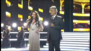 """Sarah Brightman & Andrea Bocelli - """"Time To Say Goodbye"""" - l..."""