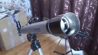 доступный, не дорогой телескоп 60050 обзор с наблюдениями