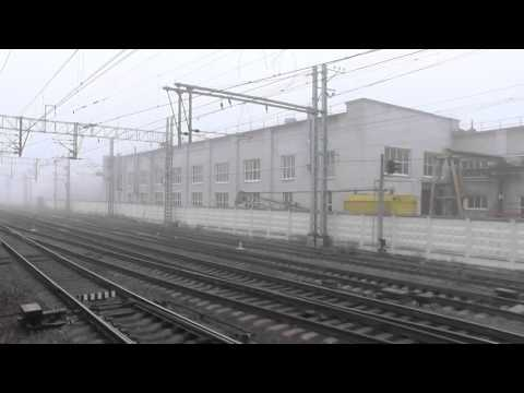 """""""Туман"""" Следование по станции Малая Вишера"""