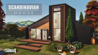Scandinavian House | The Sims 4 Speed Build | NO CC | Stop Motion |