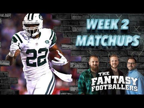 Fantasy Football 2016 - Week 2 Matchups, Daily Dose, #FootClan Friday - Ep. #266
