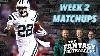 Fantasy Football 2016 - Week 2 Matchups, Daily Dose, #FootClan Friday - Ep. #266