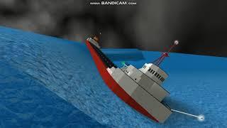 ROBLOX S S Edmund Fitzgerald sinking