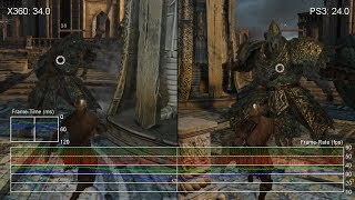 Dark Souls 2: Xbox 360 vs. PS3 Frame-Rate Tests