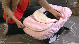 JJ Cole Car Seat Cover - Protect your baby from the elements