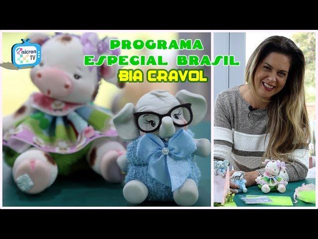 NICRON TV - Especial Brasil  Bia Cravol Ep. 1