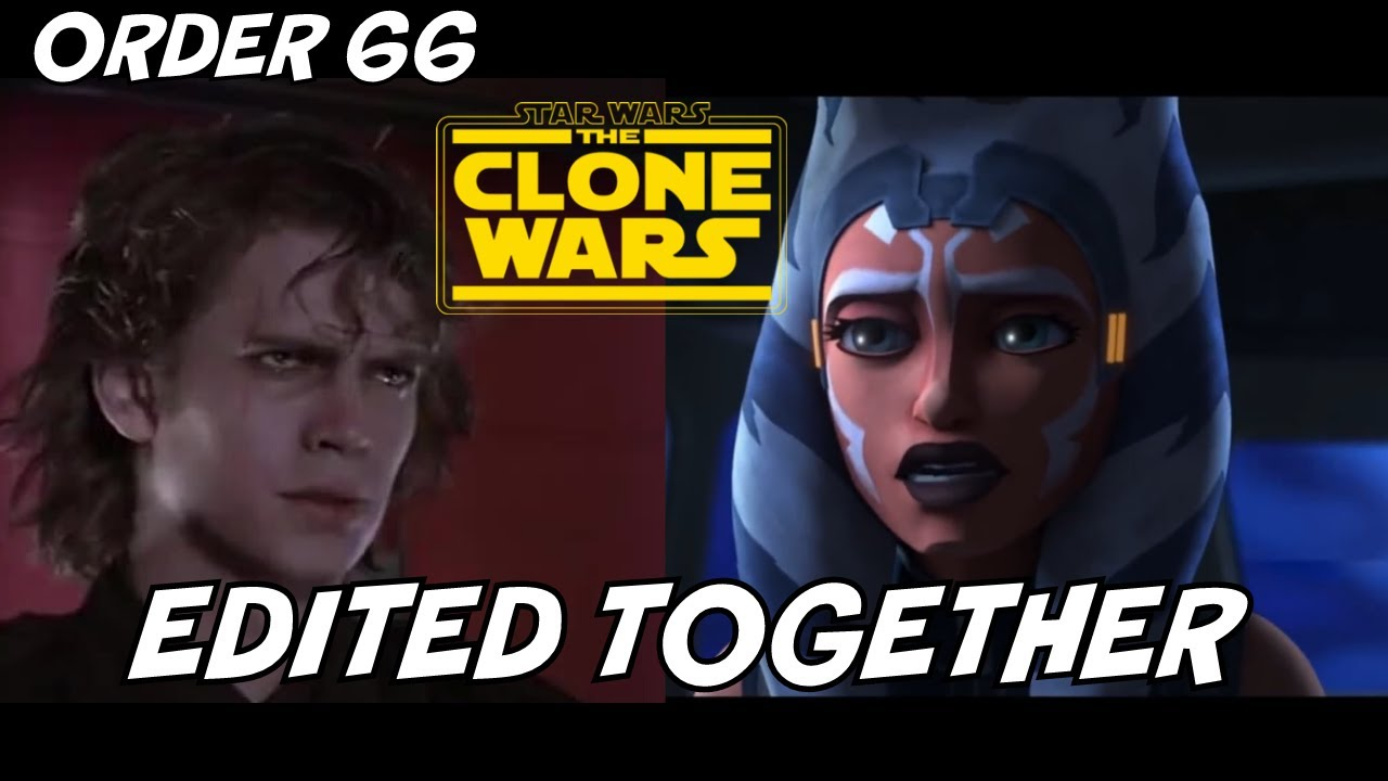 Clone Wars Order 66 Edited Together With Revenge Of The Sith