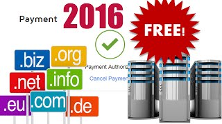 How To Get Free Hosting And Domain UNLIMITED! 2017 METHOD