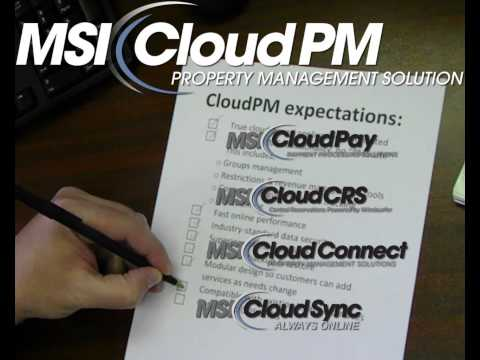 MSI CloudPM, Connecting Hospitality!