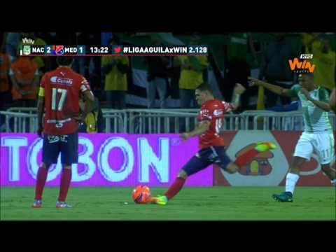 Liga Aguila 2017-I | Fecha 10 Nacional 3-1 Medellín Win Sports