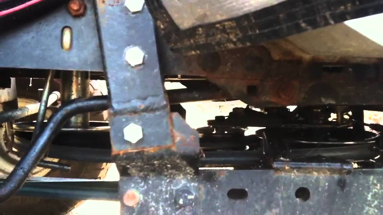 Home Made Brackets For Craftsman Tractor Snowblower Gt6000