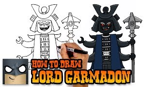 How to Draw Lord Garmadon   Ninjago (Art Tutorial)