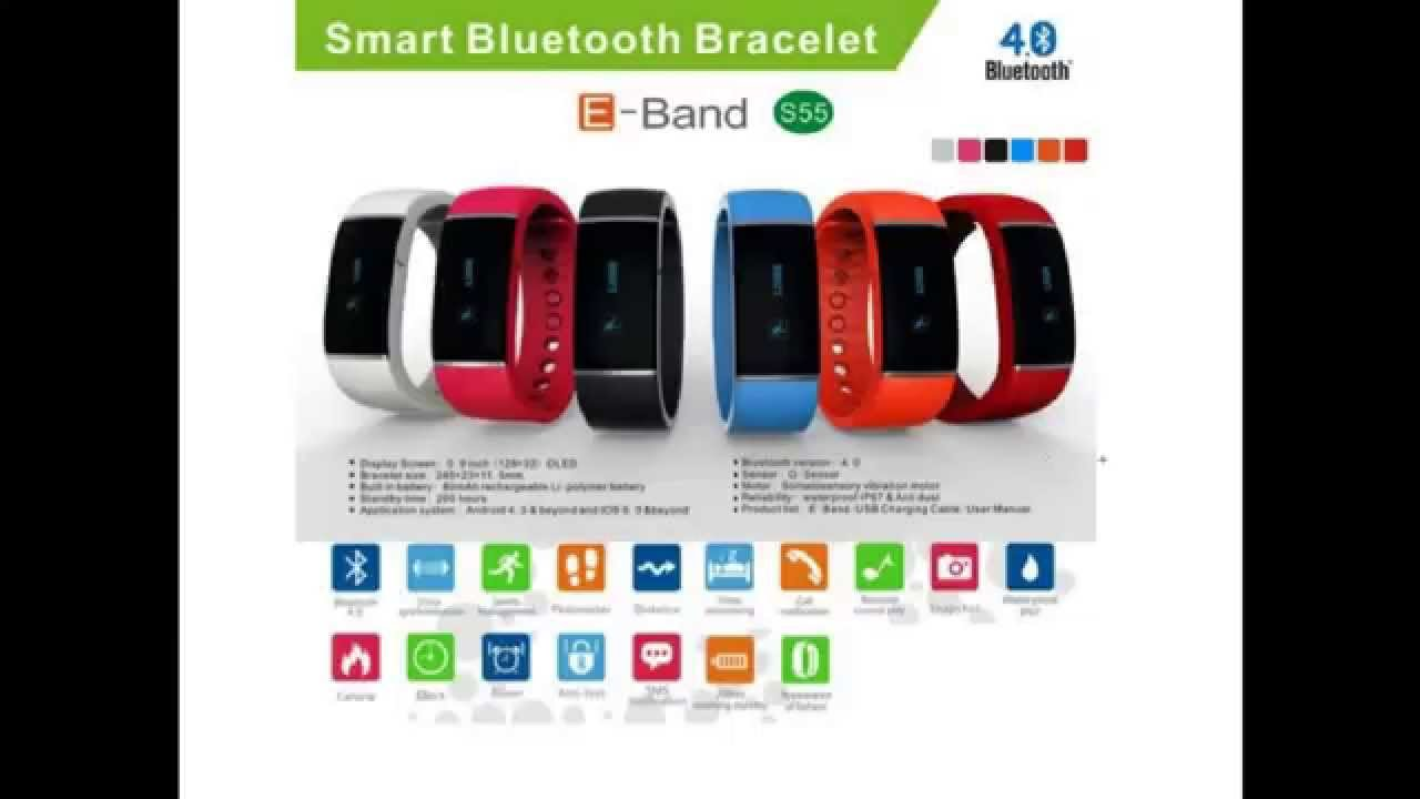 4d1f62bd8 Opinion pulsera E-band s55 - YouTube