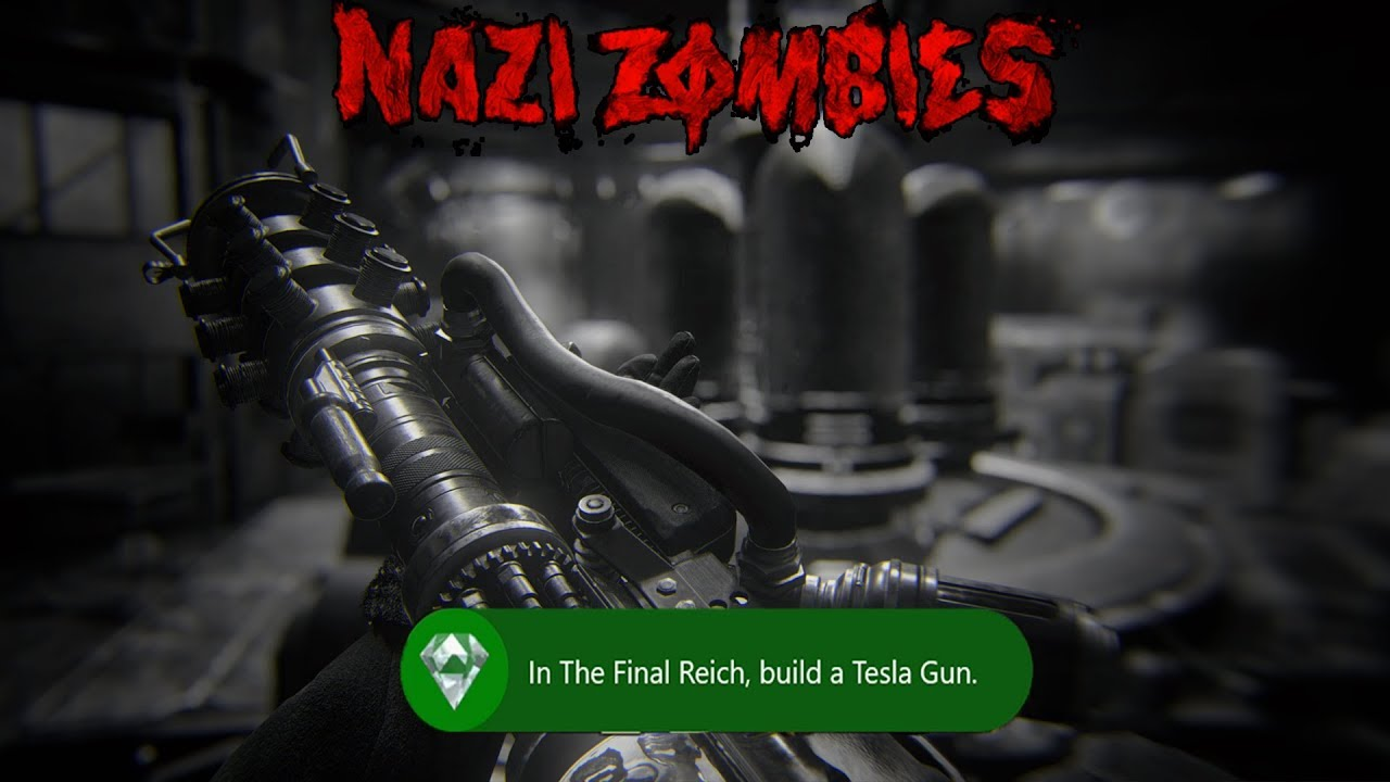 THE FINAL REICH - HOW TO BUILD THE TESLA GUN (WW2 Zombies)