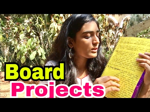 How To Make Projects for Board Exam - Jahnavi Pandya
