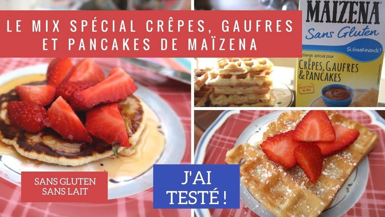 J Ai Teste Le Mix Maizena Pour Crepes Pancakes Et Gaufres Sans