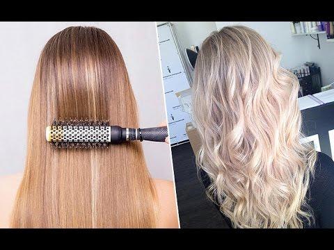 Как накрутить волосы плойкой // Быстро делаем объемные красивые локоны за 10 минут!