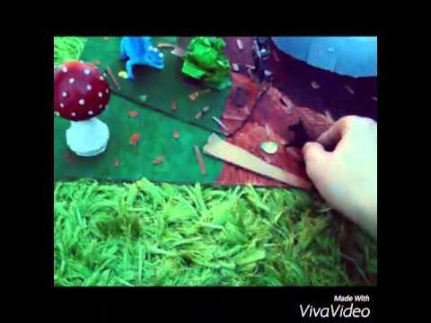 Monster Hunt diorama