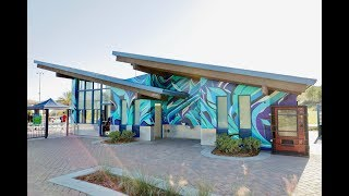 """Skate Park """"Inertia"""" Mural Time-Lapse"""