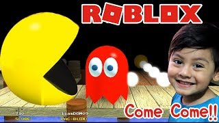 Pacman at Roblox Adventures with Pacman and the Ghosts PacBlox Roblox Children's Games
