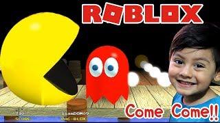 Pacman bei Roblox Abenteuer mit Pacman und den Geistern PacBlox Roblox Kinderspiele
