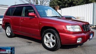 Walk Around - 2000 Subaru Forester S/TB 5spd - Japanese Car Auction