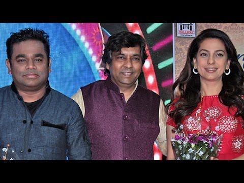 A R RAHMAN AND JUHI CHAWLA AT BHAVDEEP'S ALBUM 'NIRANTARR' LAUNCH   Bollywood News