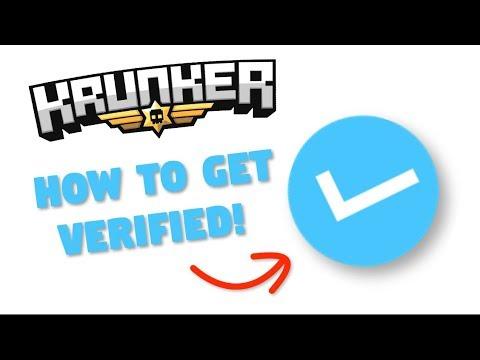Krunker - How To Get VERIFIED In Krunker (Best Methods 2019)