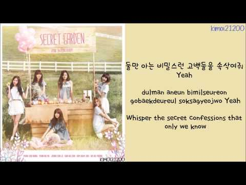 APink - Secret Garden [Hangul/Romanization/English] Color & Picture Coded HD