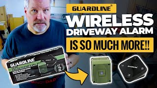 Guardline Wireless Driveway Alarm is so much more!!