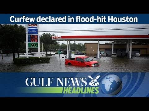 Curfew declared in flood-hit Houston - GN Headlines
