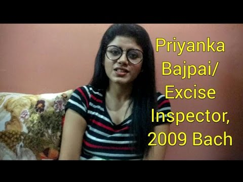 An Introduction: Dr. Priyanka Bajpai | Excise Inspector-2009 Batch