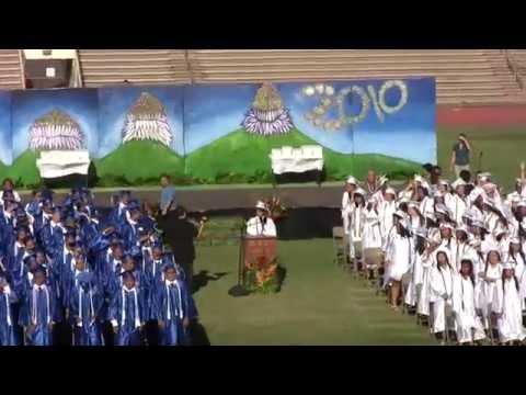 Maui High School Graduation Ceremony 2010