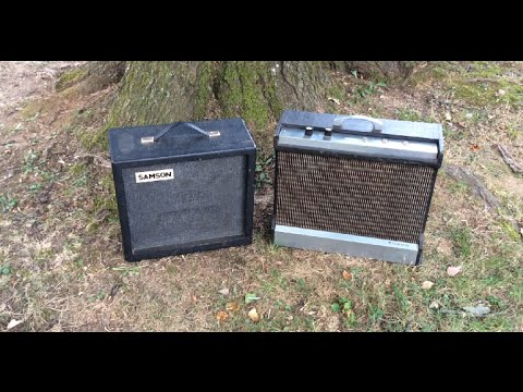 Obscure Vintage Guitar Amps by Radionic Industries (Truetone, Samson)