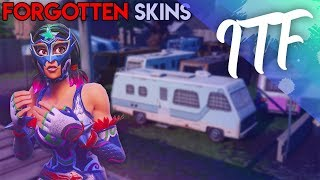 10 Fortnite Skins That Are Forgotten (Fortnite Battle Royale)