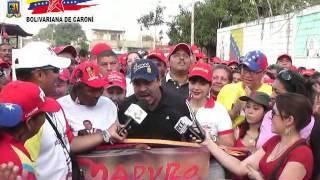 Alcalde López inaugura Comunidad 80 asfaltada en el Municipio Caroní en 4 Años de Gobierno