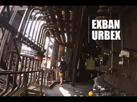 Urban Exploration: Exploring An Abandoned Industrial Site