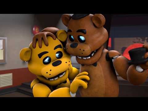 FNAF Shipping Freddy x Golden Freddy