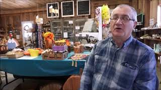 Bill at Pumpkins and More Farm Market