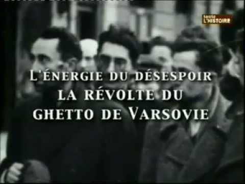 La revolte du gheto de varsovie (l'energie du desespoir )