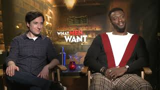 Vudu Presents - What Men Want: What Aldis Hodge and Josh Brener want