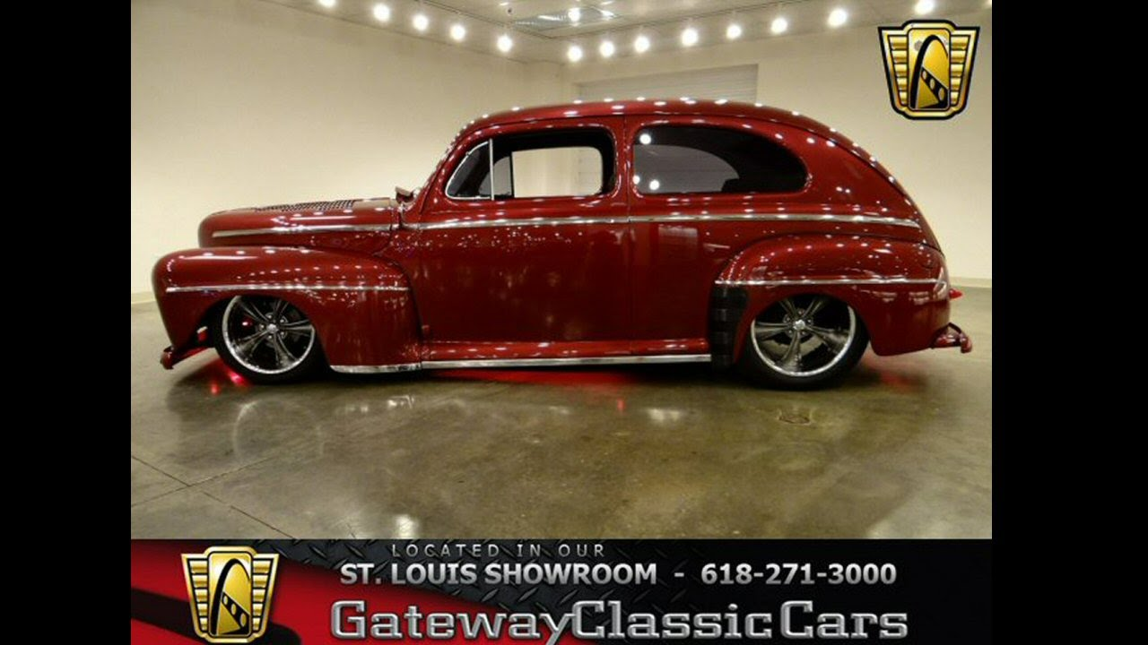 1947 Ford 2 Dr Sedan - Gateway Classic Cars St. Louis, MO - YouTube