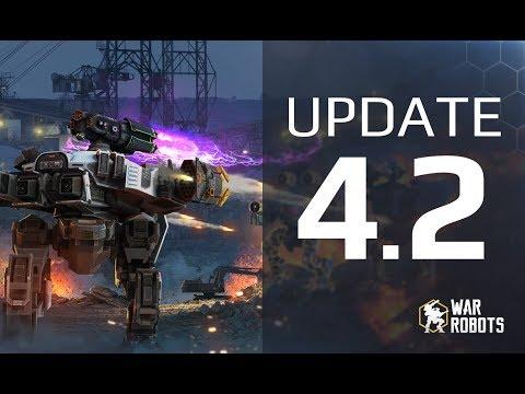 War Robots Update 4.2 overview | Workshop 2.0, Clan Rank, new Lock Down weapons