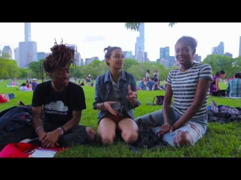 WEEK 5: EJAAZ and Destiny Taylor xo in Sheep Meadow, Central Park