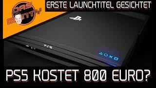 Sony PS5 kostet 800 Euro? - Erste Launchtitel der Playstation5 gesichtet   DasMonty