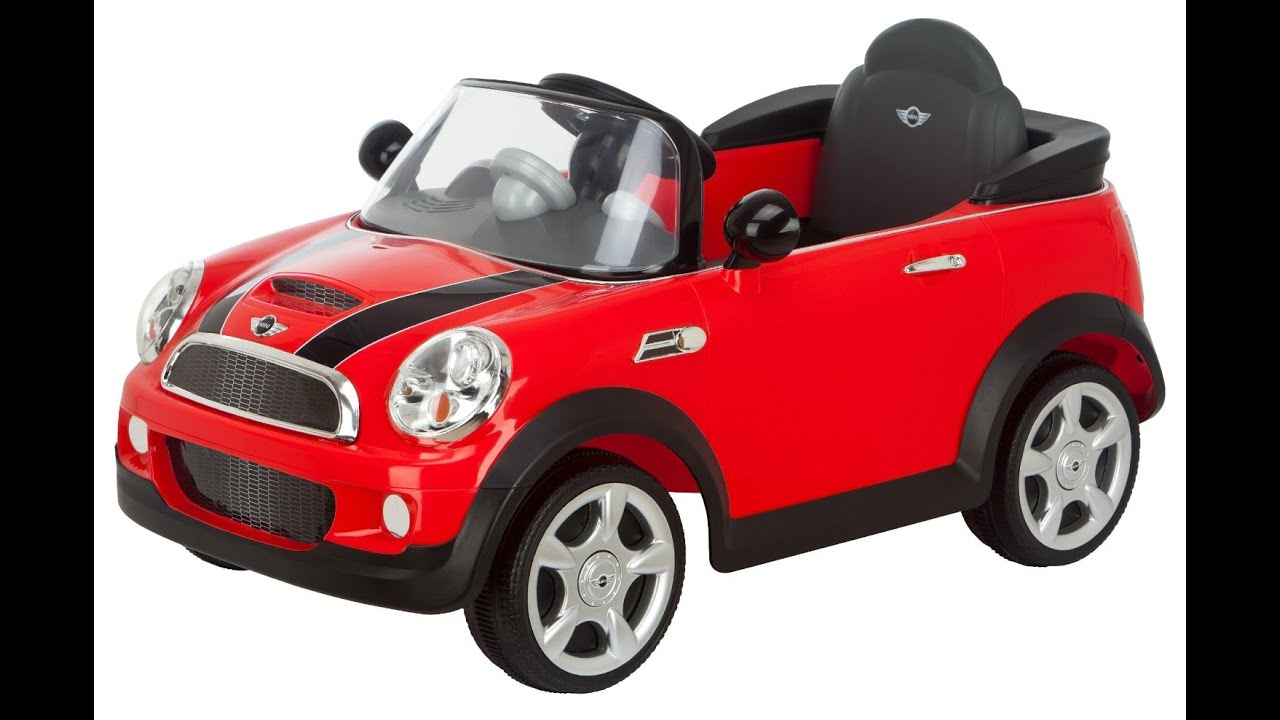 kid trax mini cooper 6v voiture lectrique pour les. Black Bedroom Furniture Sets. Home Design Ideas