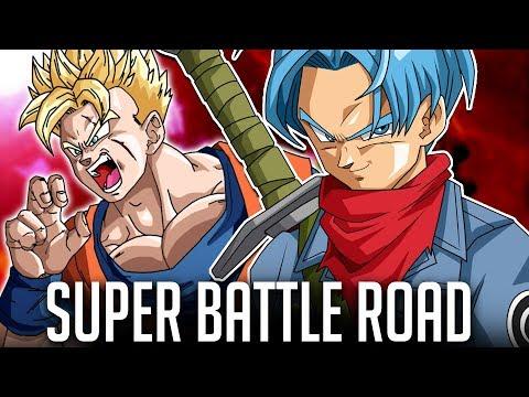 THAT'S JUST NOT FAIR! HYBRID SAIYANS SUPER BATTLE ROAD! DBZ Dokkan Battle