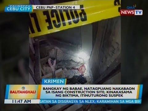 BT: Bangkay ng babae, natagpuang nakabaon sa isang construction site...